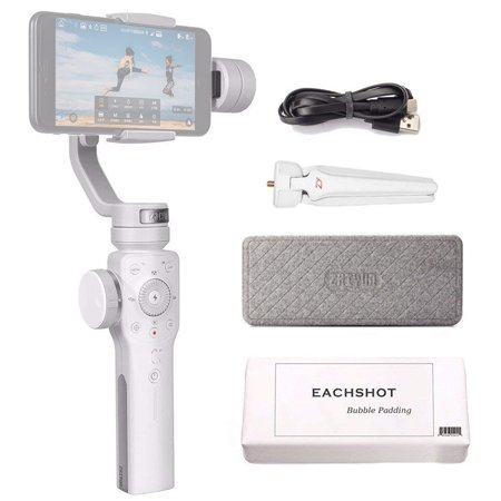 Zhiyun Smooth 4 Handheld 3-Axis Gimbal Stabilizer for Smartphone (White)