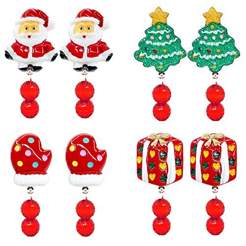 Christmas Tree Miracle Movie: Elesa Miracle 4 Pairs Little Girl Children