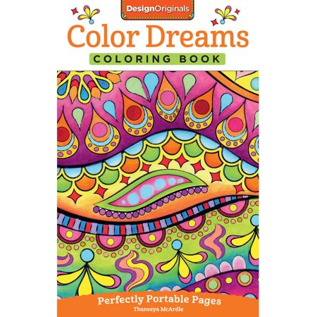 Color dreams coloring book Coloring book walmart