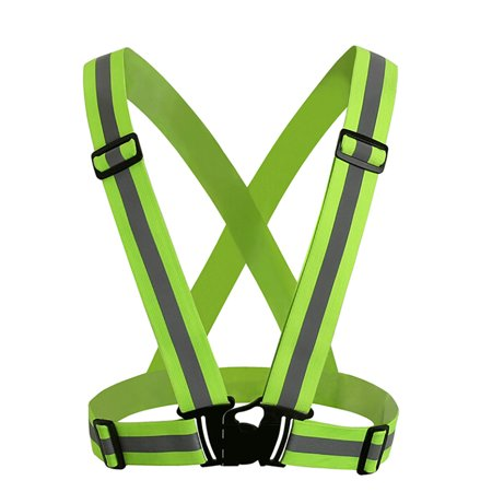 GOGO Adult Wholesale Reflective Vest For High Visibility, Motorcycle Jacket / Running Gear / Shirt-NeonGreen-1pc (Adult Toys Wholesale)