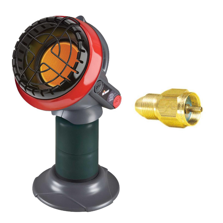 Mr. Heater Portable 3800 BTU Little Buddy Propane Heater (Heats 95 SQ.FT) with Tank Refill... by Mr. Heater
