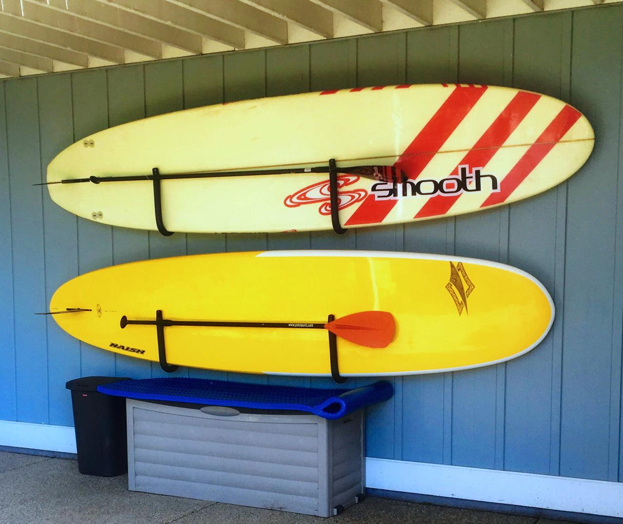 SUP Hanger Rack | Paddle Board Wall Hooks | StoreYourBoard - Walmart.com