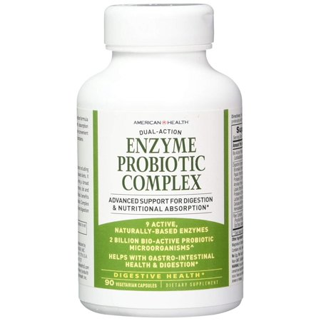 Probiotic Complex - Enzyme Probiotic Complex Products 90 VCaps, American Health Products By American Health
