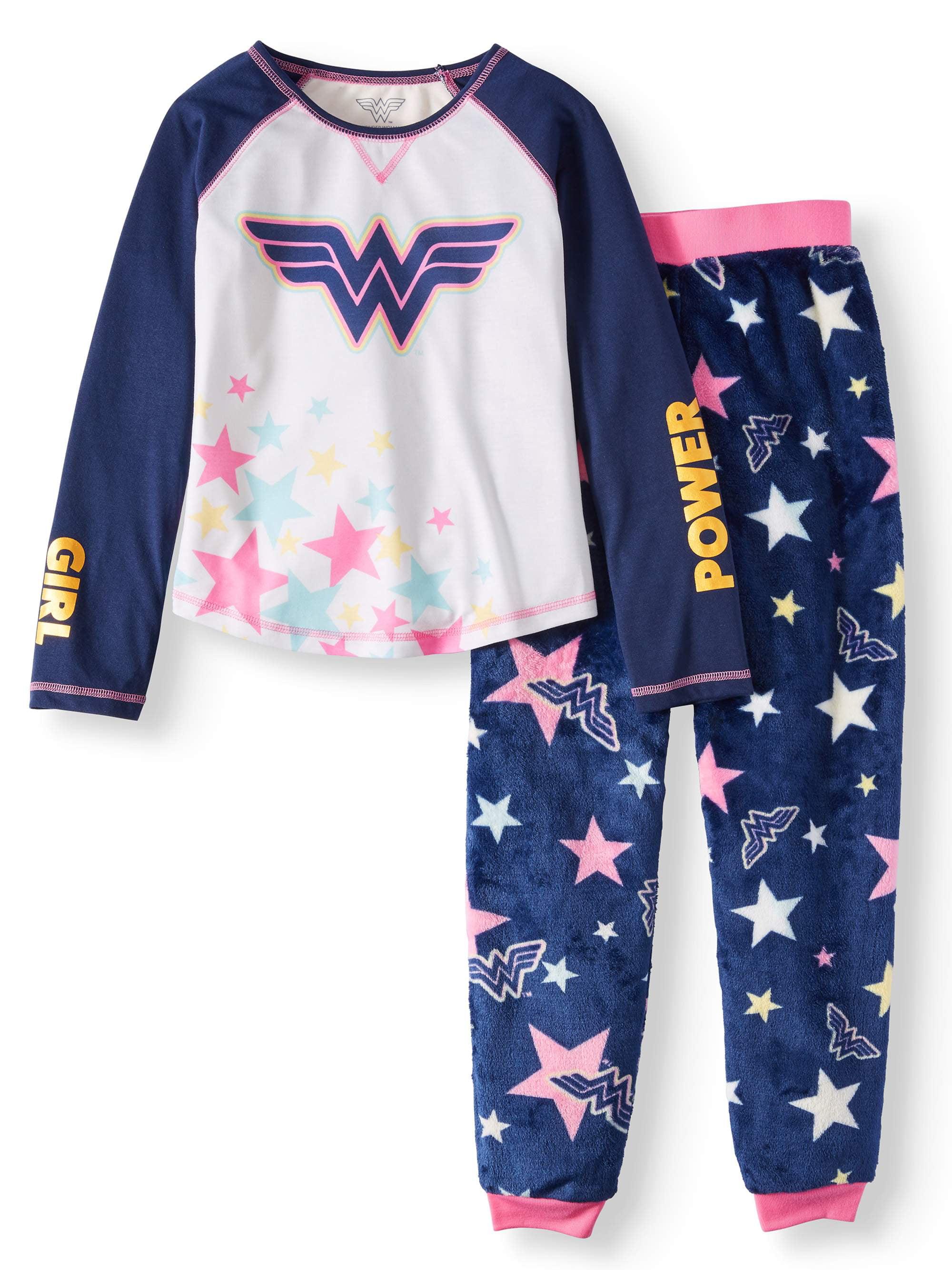 Wonder Woman Girls Big WW Hooded Robe