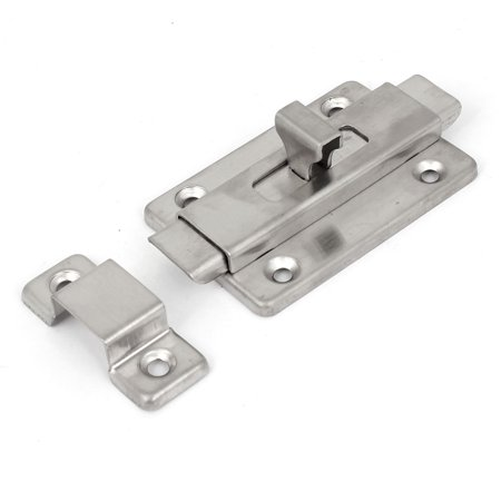 Bathroom Toilet Door Stainless Steel Gate  Bolt Latch Lock - Bathroom Door Bolts