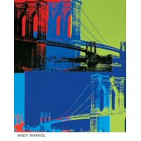 Brooklyn Bridge Laminated Poster By Andy Warhol (8 X 10)