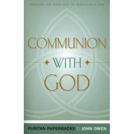 Communion with God (Puritan Paperbacks) - Communion Verse