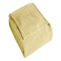 Grand Hotel Woven Cotton Bed Blanket, Multiple Sizes and Colors