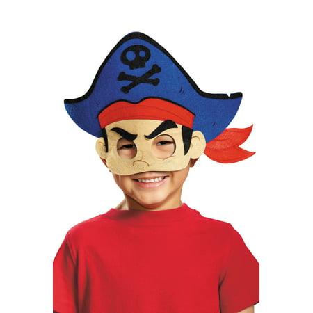 Captain Jake Felt Child Mask - Captain Jake
