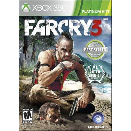 Refurbished Far Cry 3 For Xbox 360 (Far Cry 3 Blood Dragon Xbox 360 Disc)