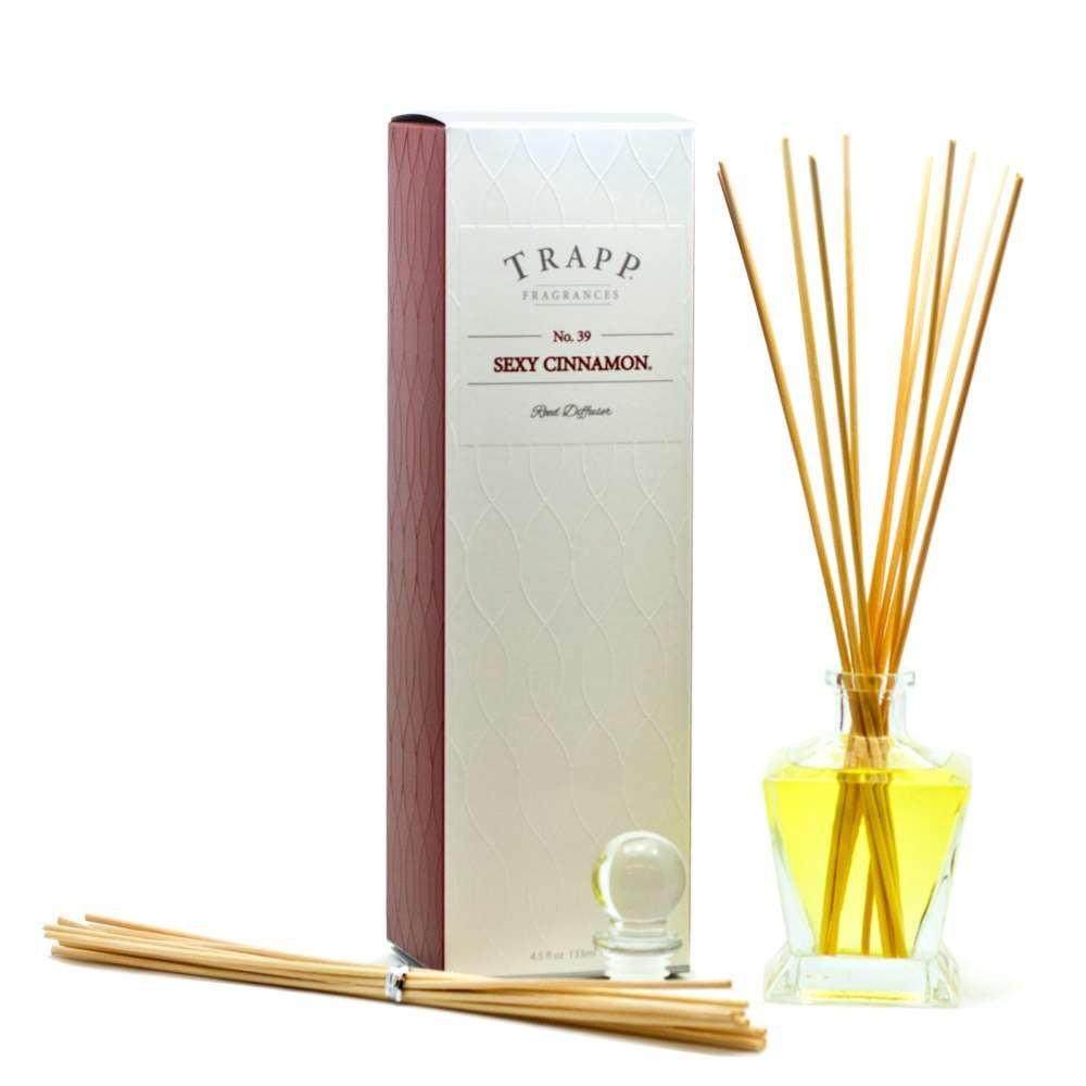 Trapp Fragrances Sexy Cinnamon No.39  4.5 fl oz Reed Diffuser 133 ml