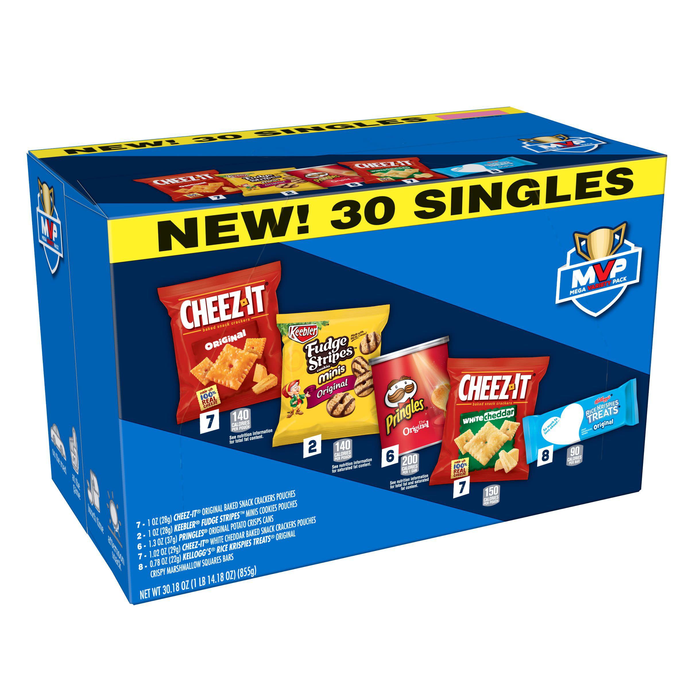 Kellogg's Mega Variety Pack Snacks 30.18 oz. 30 Ct Box