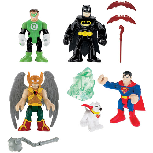 Fisher-Price Imaginext Superfriends Heroes Action Figures Play Set