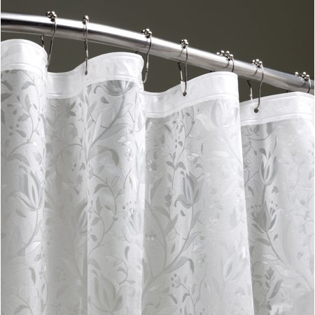 Dainty Home Floral 3D Anti Mildew Shower Curtain