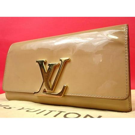 Louis Vuitton PORTEFEUILLE Louise Long Clutch Wallet 218916