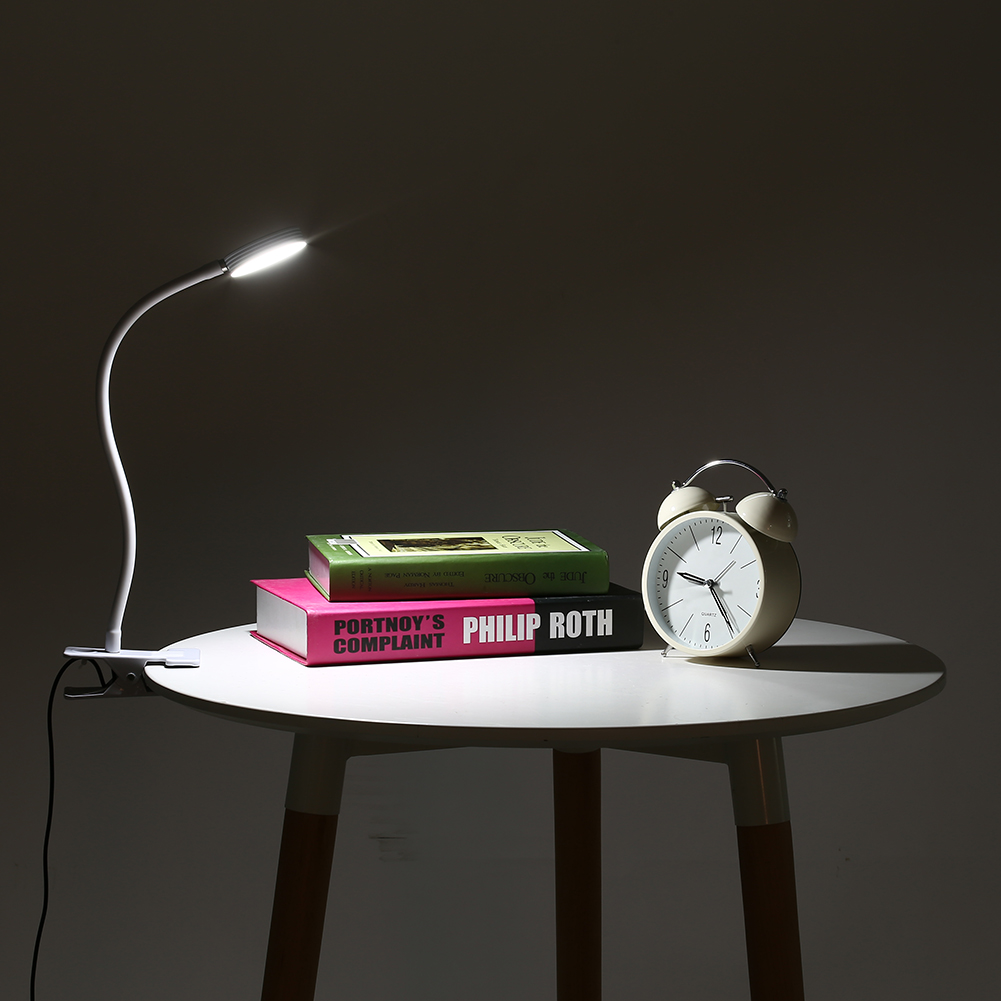 USB Tattoo Beauty Lamp with Cold Warm Light and Clip of Eyebrow Tattoo Manicure Eyelash Extension and Reading Desk Lamp