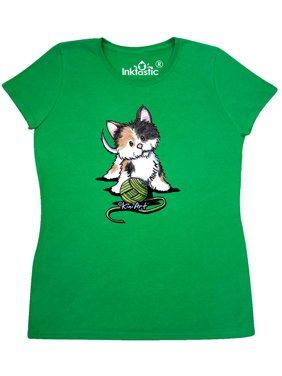 a1224853 Product Image Calico Kitten For Darks Women's T-Shirt - KiniArt