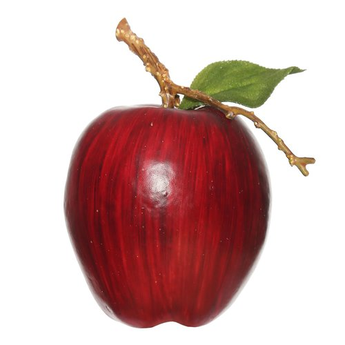 Charlton Home Faux Red Apples (Set of 6)