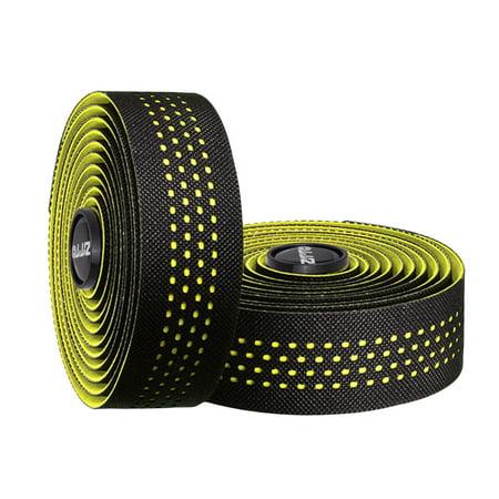 ZTTO Soft Breathable Road Bike Bicycle Handlebar Tape Cork EVA PU Bar Tape Professional Cycling Damping Anti-Vibration Wrap With 2 Bar Plug