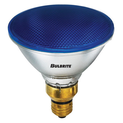 Bulbrite Industries 90W Blue 120-Volt Halogen Light Bulb (Set of 2)
