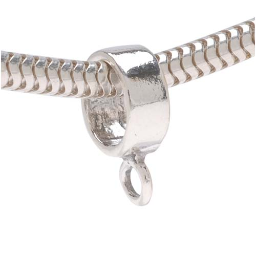 STERLING SILVER PICNIC BASKET FLAT CHARM W// SPLIT RING