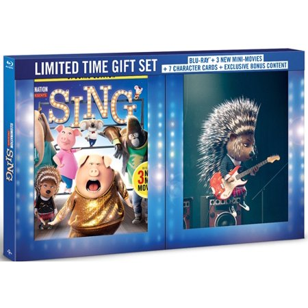 Sing  Blu Ray   Walmart Exclusive