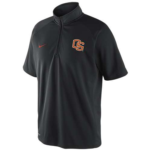 Nike Oregon State Beavers Elite Short Sleeve Mock Shirt