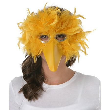 Feather Bird Mask - Angry Bird Masks