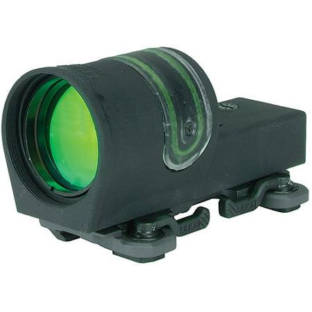 Trijicon 42Mm Reflex Amber 4 5 Moa Dot Reticle Sight  Black  Throw Lever Flattop