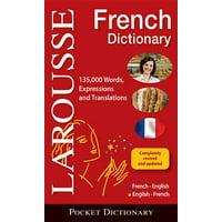 Larousse Pocket French Dictionary: French-English/English-French (Paperback)