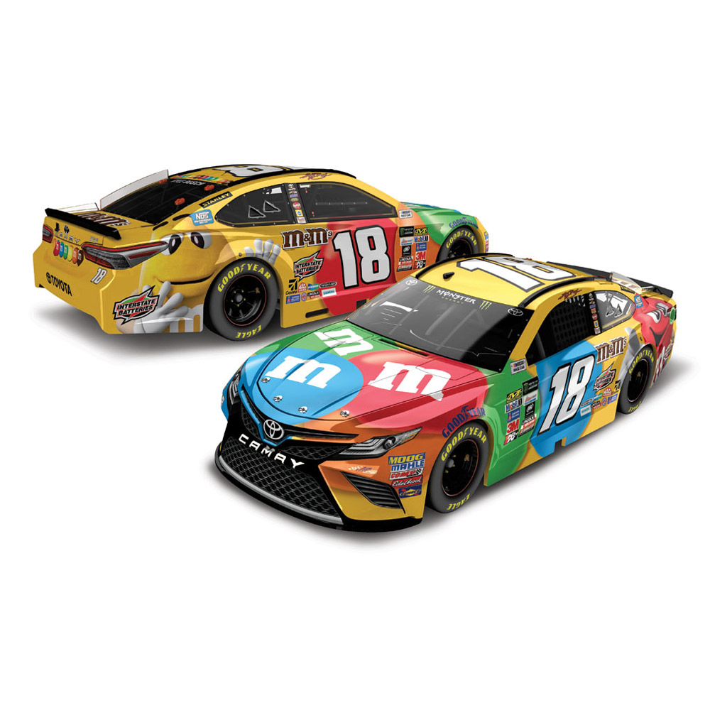 Action Racing Kyle Busch 2017 #18 M&Ms 1:24 Monster Energy Nascar Cup Series Die-Cast... by Lionel LLC