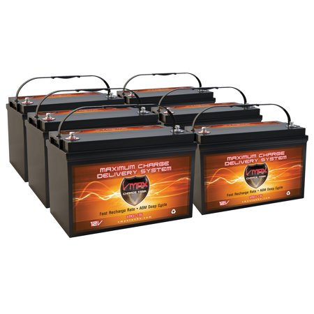 QTY6 XTR31-135 SAE GEM e2 e4 e6 es el elxd CAR 12V AGM VMAX Dry Battery 135AH