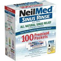 NeilMed Sinus Rinse All Natural Relief 100 Regular Mixture Packets