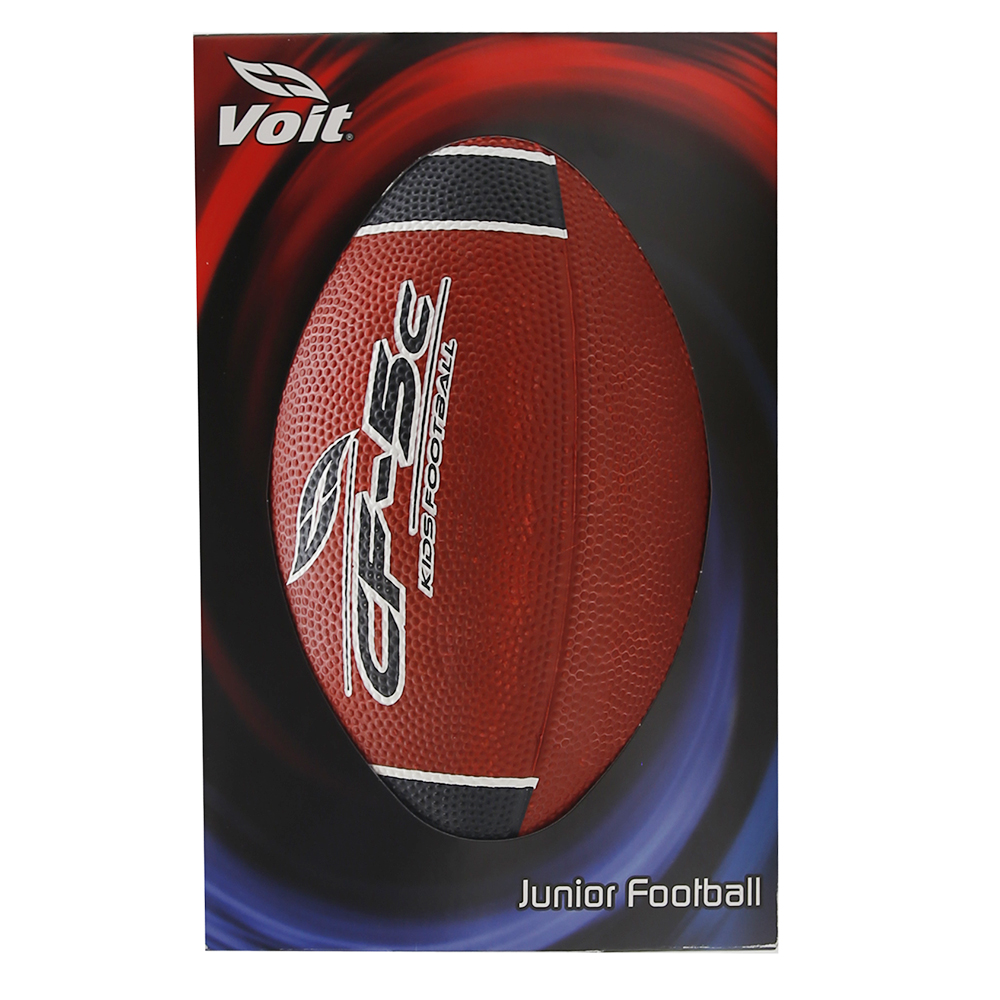 Voit Junior Football (Red/Black)