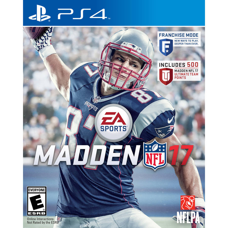 Madden NFL 17 (PS4) with Bonus 500 Madden NFL 17 Ultimate Team Points