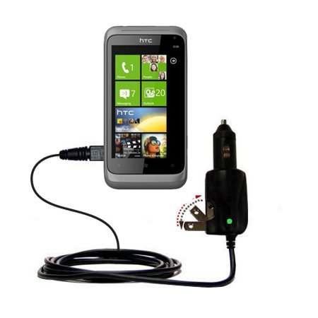 Intelligent Dual Purpose Dc Vehicle And Ac Home Wall Charger Suitable For The Htc Omega   Two Critical Functions  One Unique Charger   Uses Gomadic Br