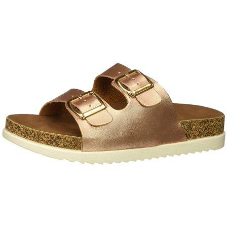 5f7ef371bba Madden Girl Women's Goldiie Slide Sandal