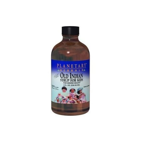 Planetary Herbals Old Indian Syrup For Kids, Wild Cherry, 4 Fl