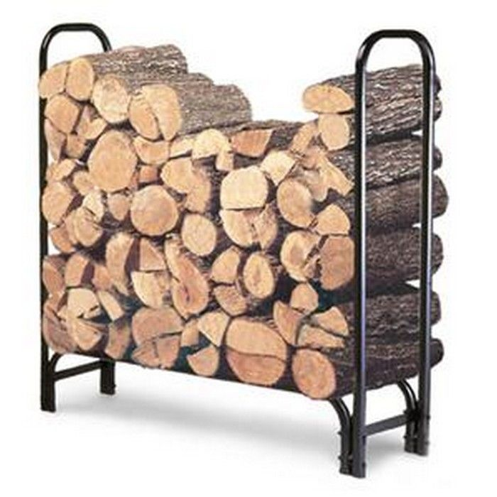 "Landmann 82413 4' Log Rack 49"" x 47.5"" x 13.5"" - Steel Fi..."