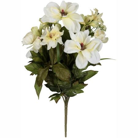 White magnolia mixed bouquet walmart white magnolia mixed bouquet mightylinksfo