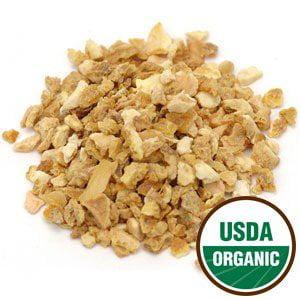 Organic Orange Peel Cut and Sifted Organic Orange Peel