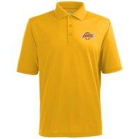 Antigua Men's Los Angeles Lakers Xtra-Lite Gold Pique Performance Polo
