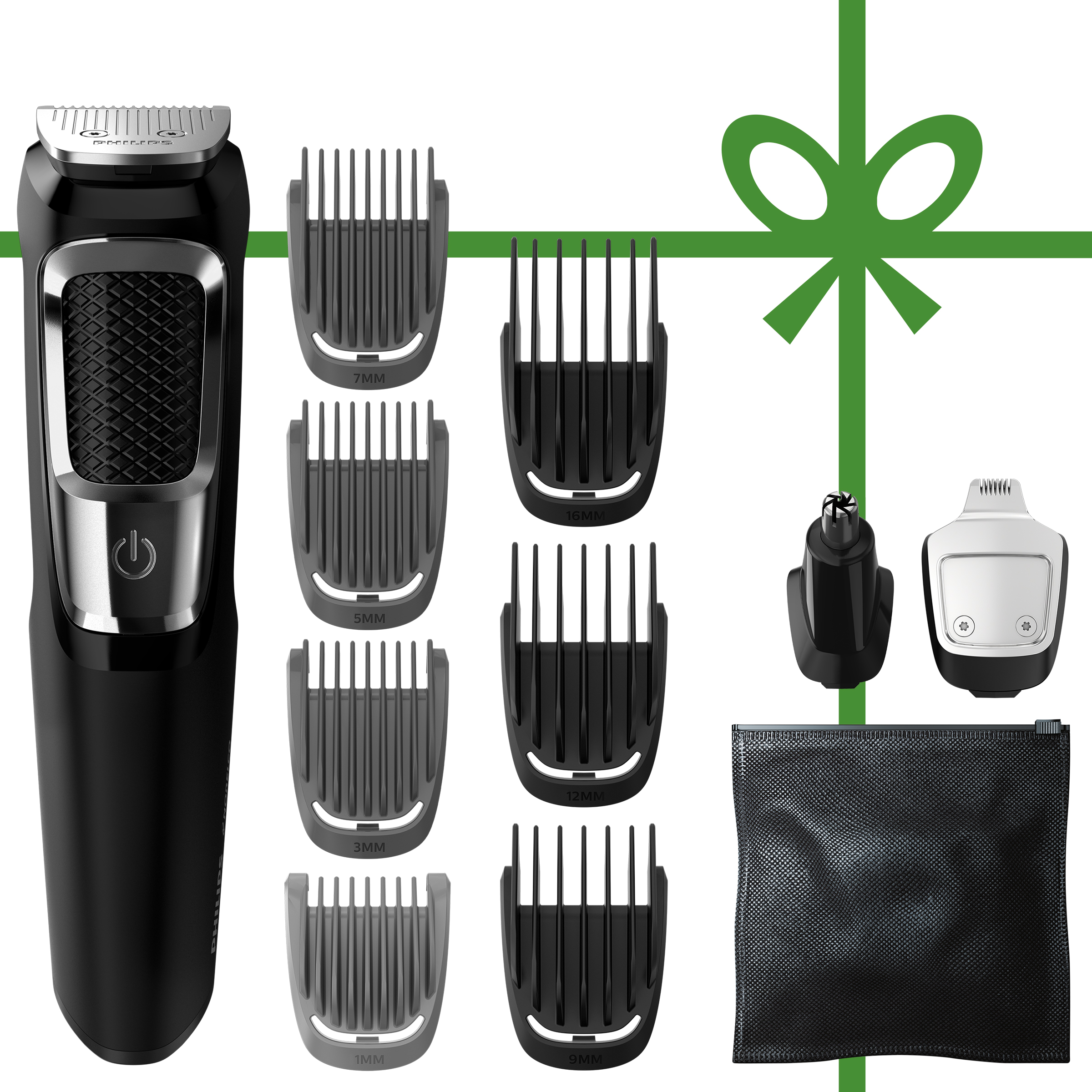 Philips Norelco Multigroom Series 3000, 13 attachments, MG3750/60