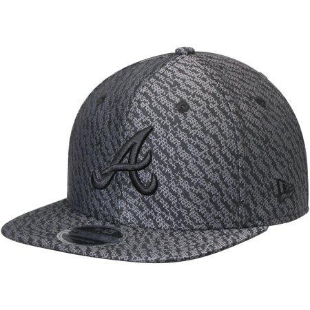 sneakers for cheap 592c4 88a51 Atlanta Braves New Era Boost Hook Original Fit 9FIFTY Snapback Adjustable  Hat - Black - OSFA - Walmart.com