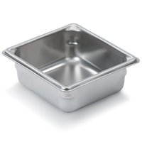 "Vollrath 30622 Super Pan V S/S 1/6 Size x 2.5"" D Food Pan"