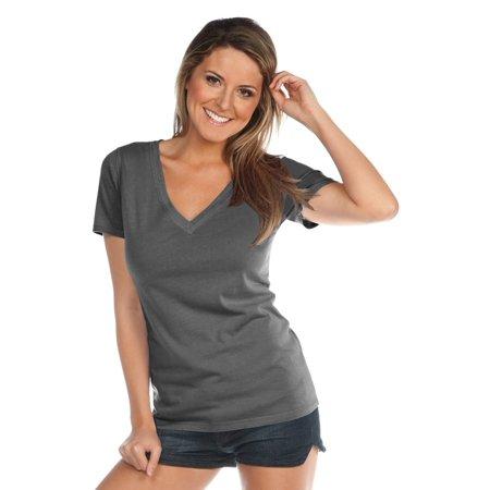 Kavio Women Pgmnt Dye Rw Edge V Nck S/S Jrsy CVC, Style WJP0484