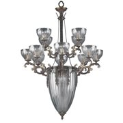 Warsaw 16-Light Chandelier in Roman Bronze Finish