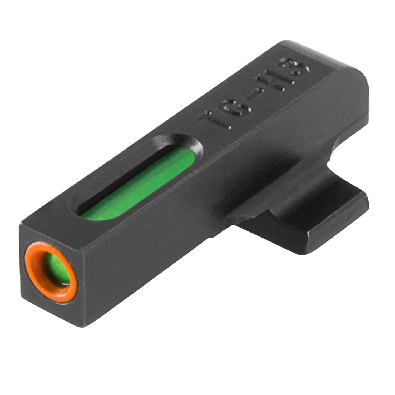 TRUGLO TFX PRO BERETTA PX4 FIBER OPTIC GREEN TRITIUM W/ORANGE OUTLINE BLACK