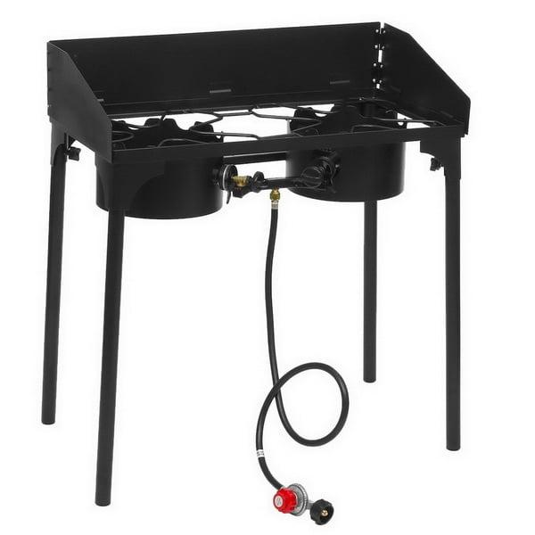 Portable Propane Single Burner Outdoor Cooker/ Camp Stove