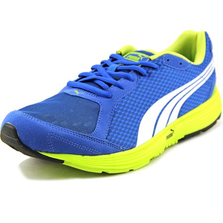 Puma Descendant Men  Round Toe Synthetic Blue Running Shoe